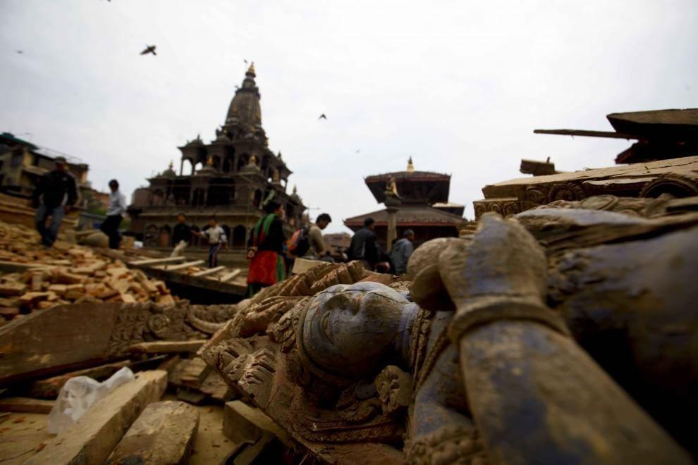 Nepal: il terremoto distrugge le bellezze artistiche del Paese