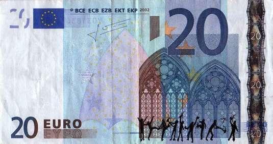 Le banconote di Stefanos, l'artista greco che mostra la disperazione sociale ai tempi della crisi economica