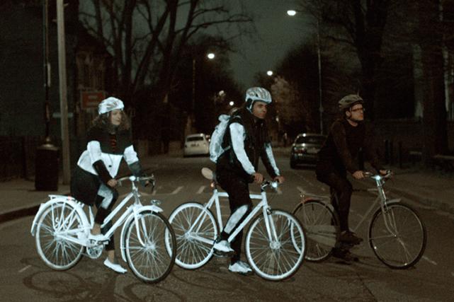 Volvo Life Paint: uno spray per rendere visibili i ciclisti