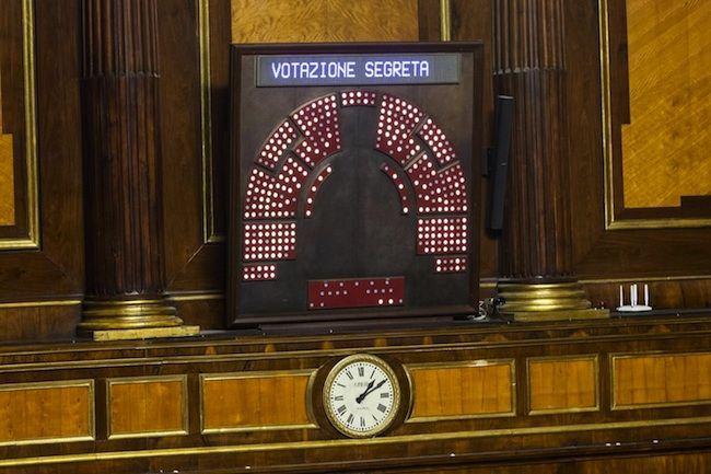 voto segreto senato