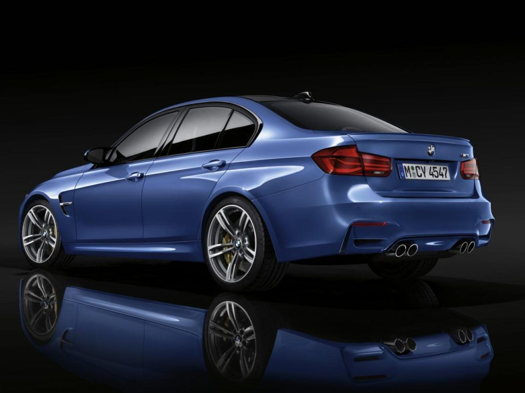 BMW M3 posteriore 1024x766