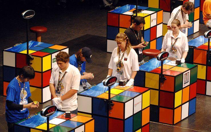 Competizioni cubo rubik