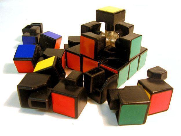 Componenti di un cubo