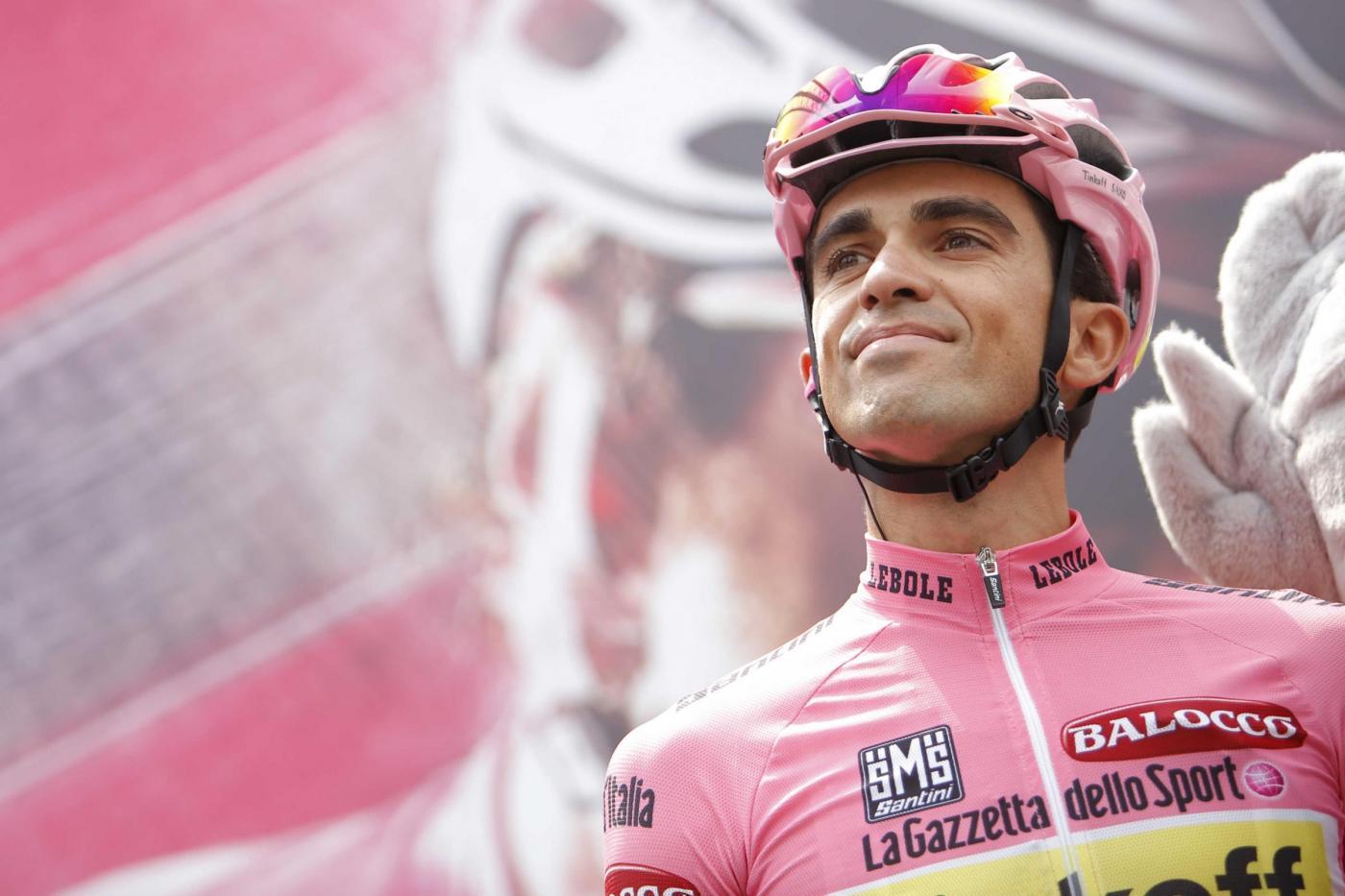 Contador maglia rosa 2015