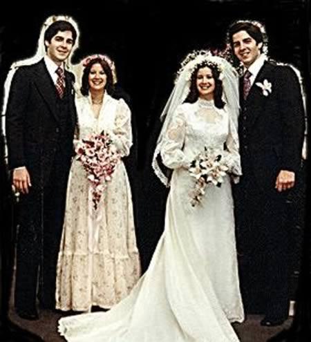 Doppio matrimonio gemelli