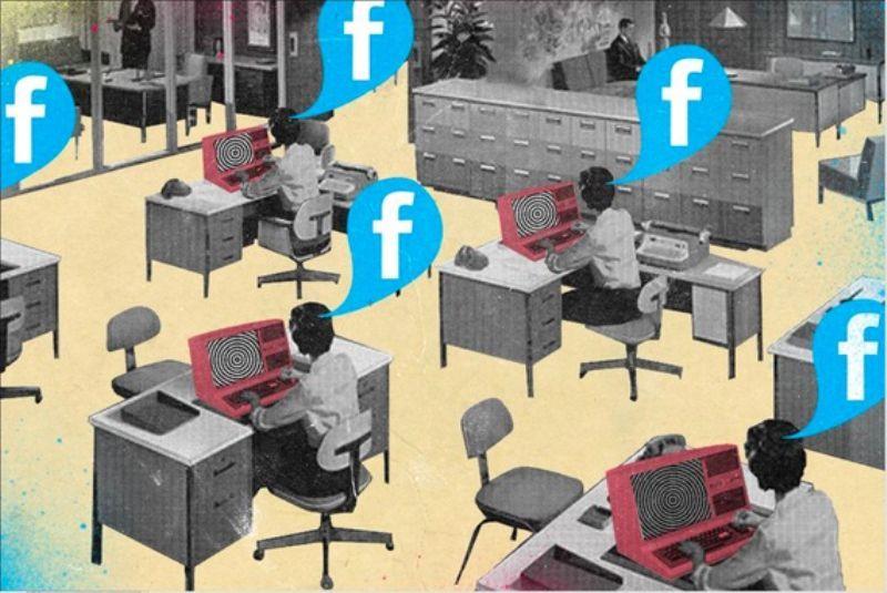 Cancellare dagli amici di Facebook un collega può essere mobbing