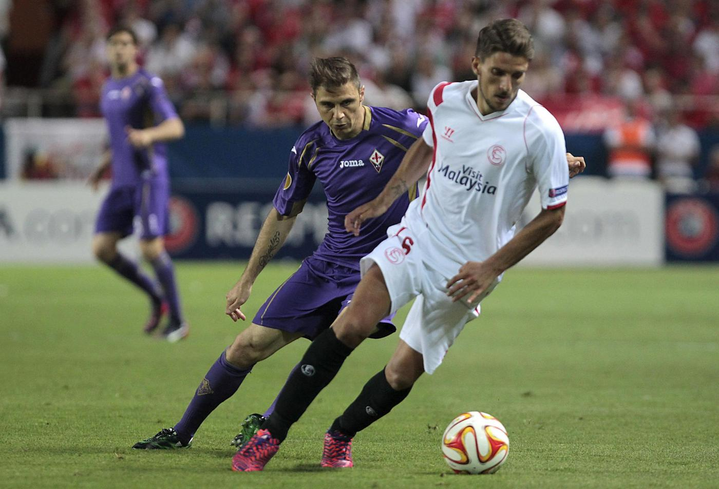 Europa League: Fiorentina vs Siviglia 0-2, Montella si sfoga
