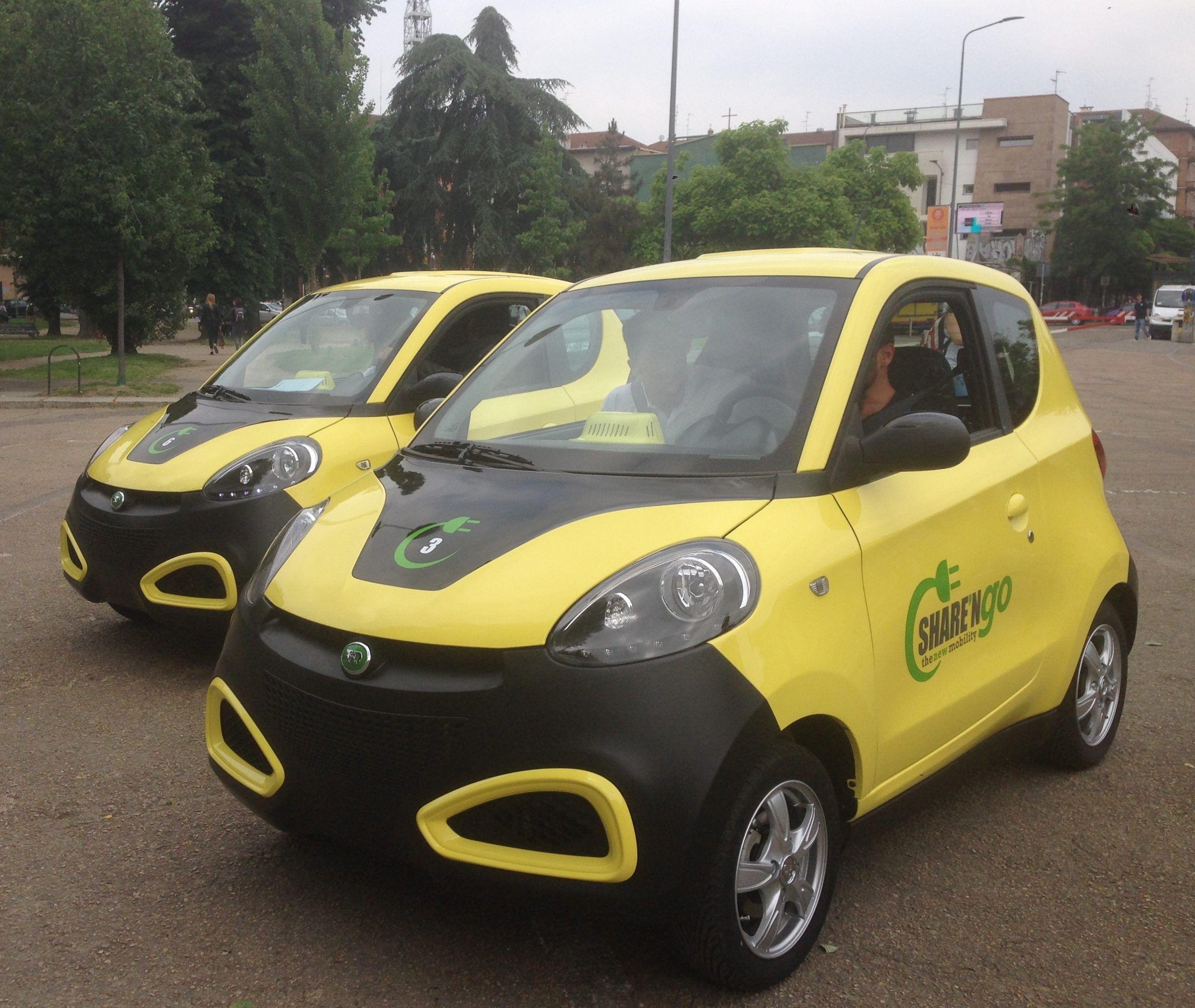 Share'ngo, il nuovo car sharing elettrico e democratico