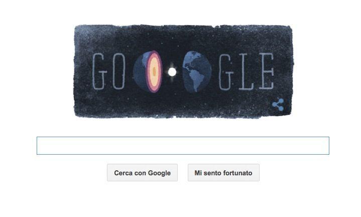 Google Doodle per la geofisica danese Inge Lehmann