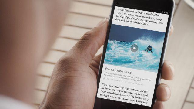 Facebook inaugura Instant Articles: notizie fresche da nove big