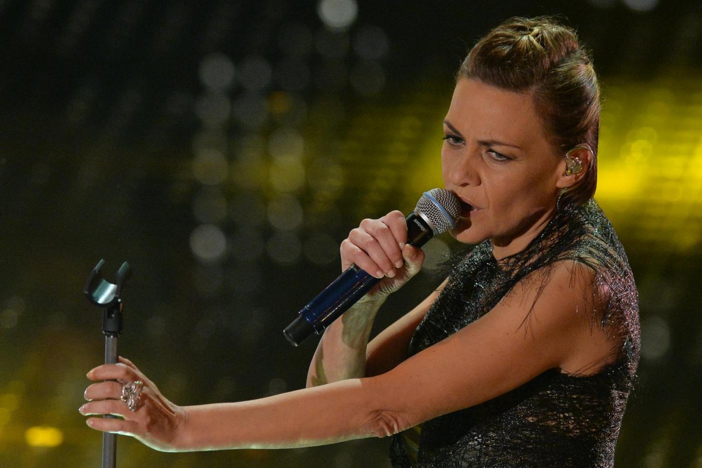 """""""Un vento senza nome"""", Irene Grandi alla prova-tournée del 2015"""