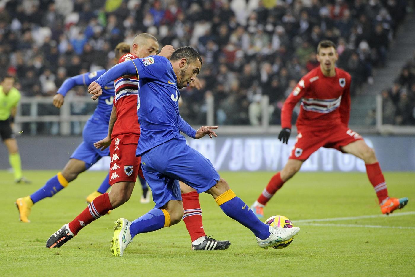 Sampdoria vs Juventus 0-1 vale il poker scudetto