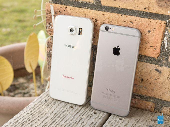 Cinque motivi per scegliere iPhone 6 invece che Samsung Galaxy S6