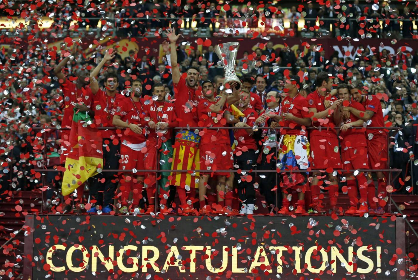 Europa League 2015 al Siviglia: storica doppietta