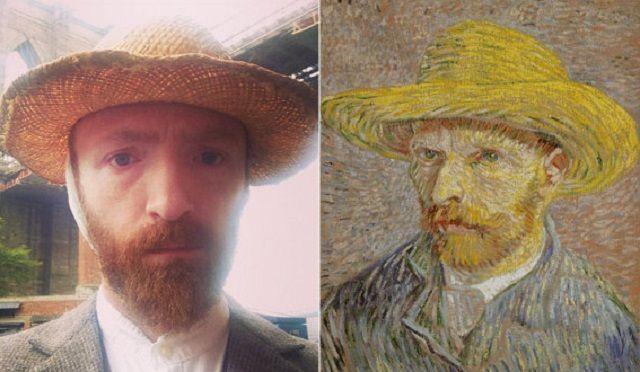 Vincent Van Gogh ha un sosia hipster a Brooklin