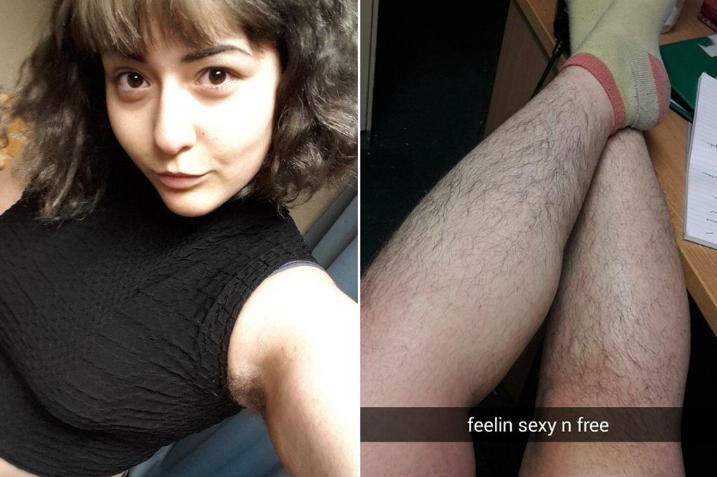 """Yasmin Gasimova rifiuta di radere i peli del corpo: """"Non ho paura di essere pelosa"""""""