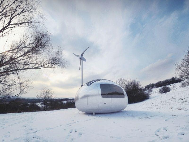 Ecocapsula: una mini casa per vacanze ecosostenibili