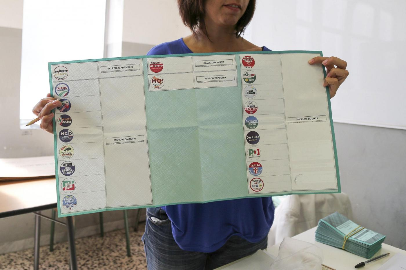 Elezioni regionali 2015: affluenza alle urne alle ore 23