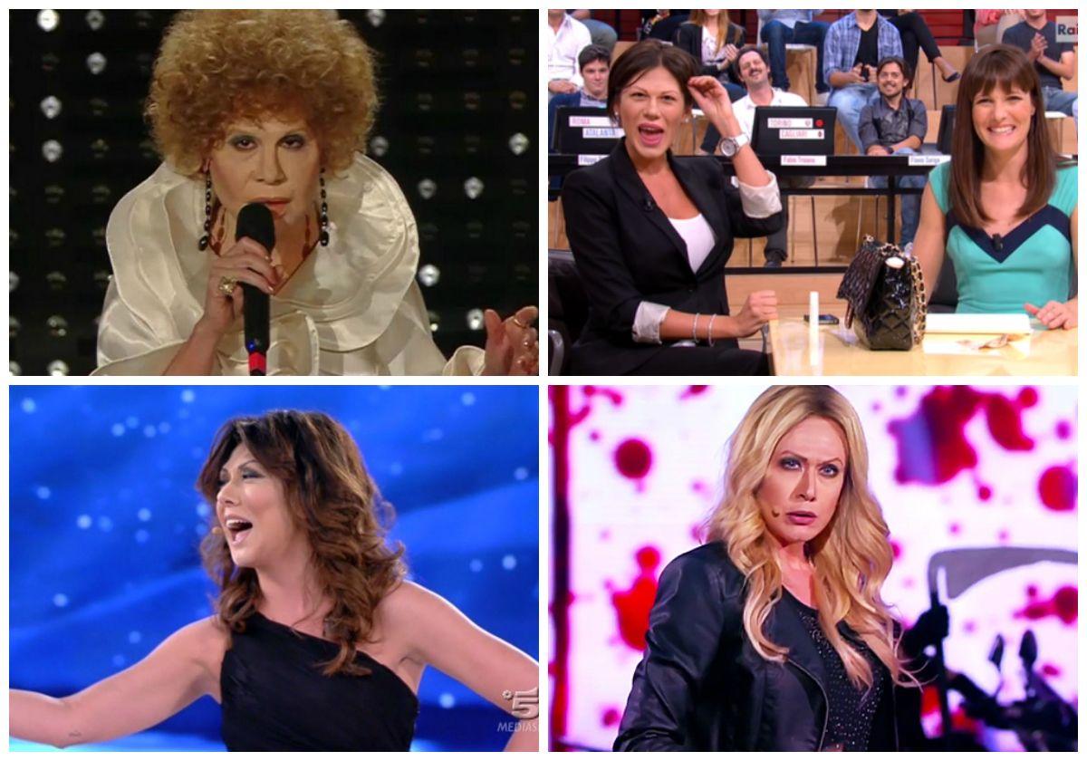Le imitazioni di Virginia Raffaele: da Belén Rodriguez a Ornella Vanoni