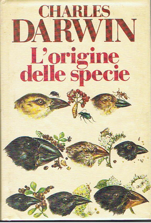 lorigine della specie cover