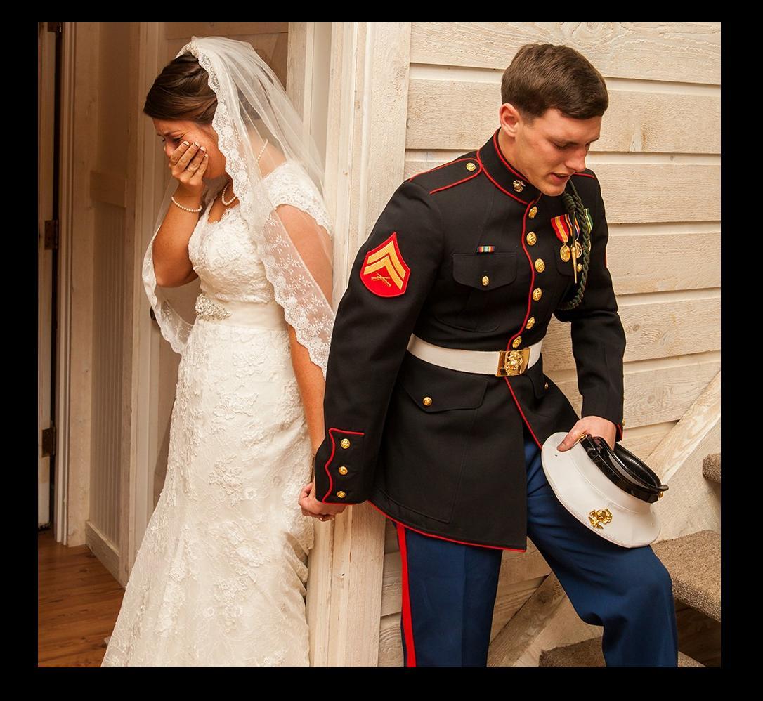 Gli sposi piangono il giorno del loro matrimonio: ecco perché