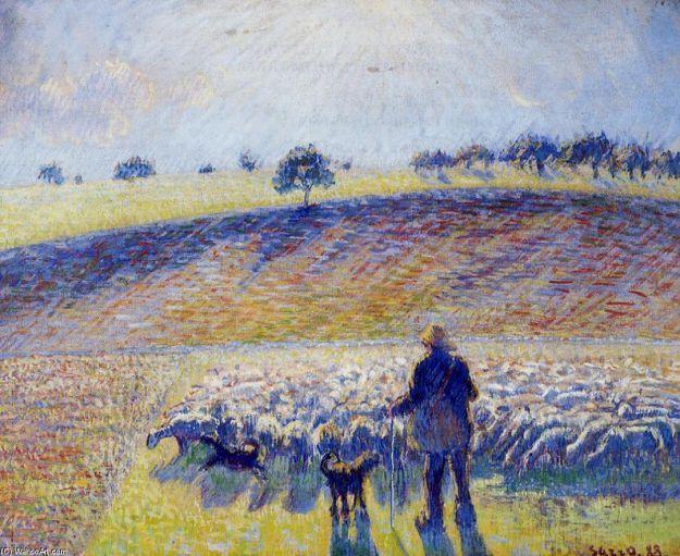 pastore e pecore pissarro 150x150