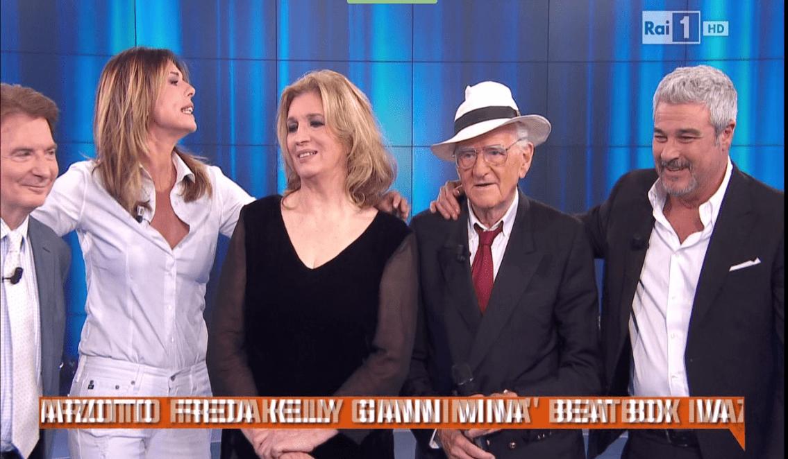 Paola Perego e Pino Insegno a Domenica In: il mancato saluto durante l'ultima puntata