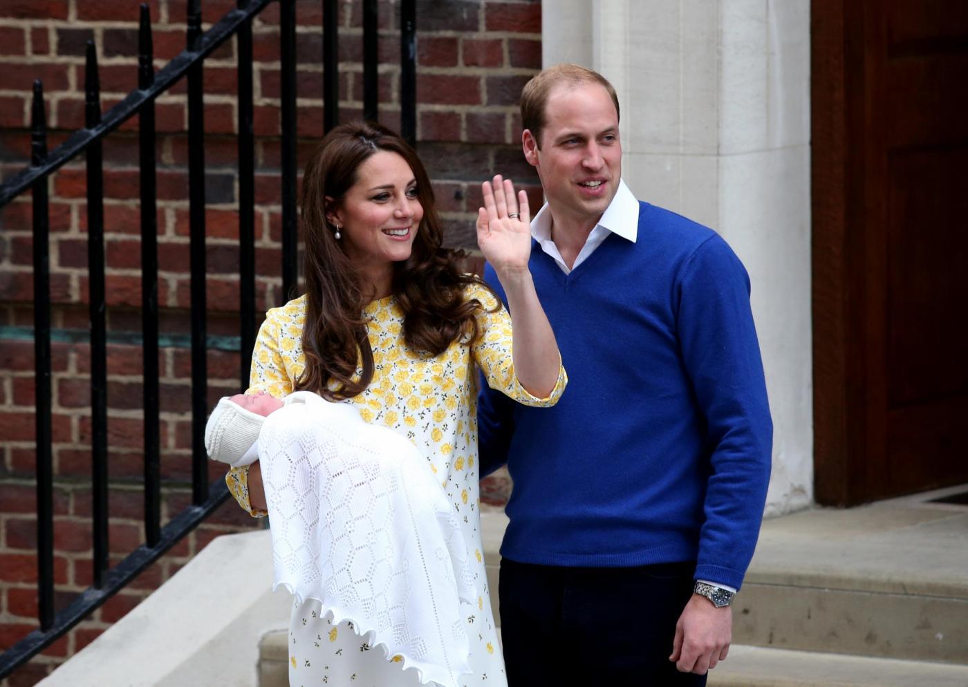Charlotte Elizabeth Diana: svelato il nome della Royal baby