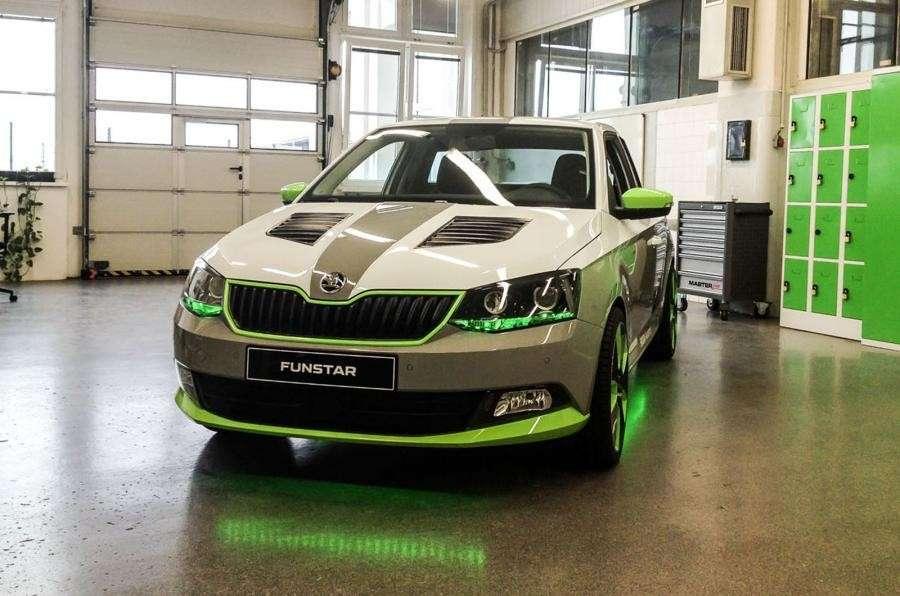 Skoda FUNstar: il concept di pickup su base Fabia