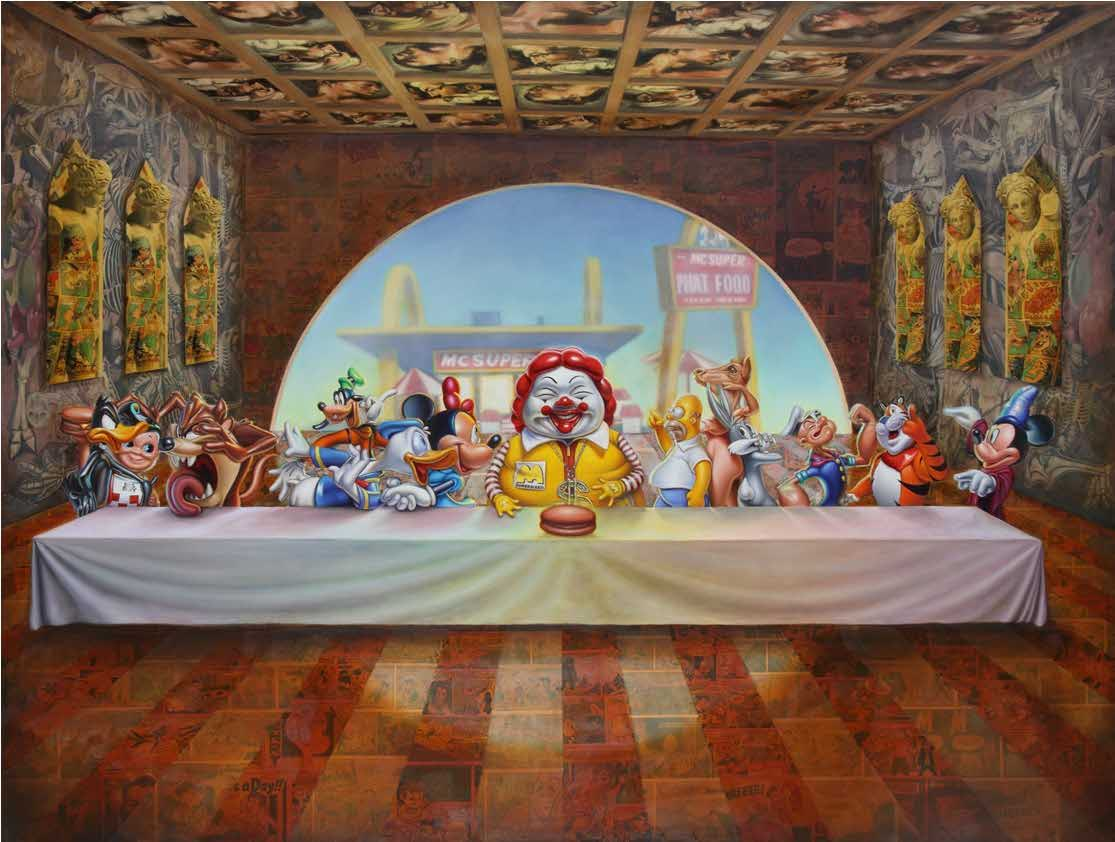 the last supper ron english