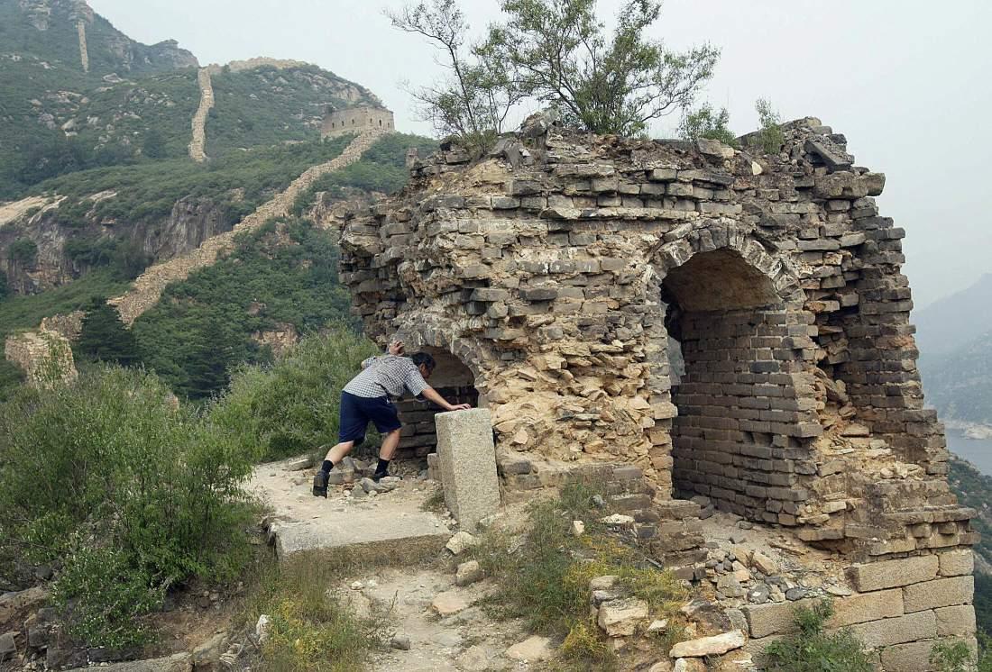 La Grande Muraglia Cinese rischia di scomparire: persi 1.961 chilometri, 1.185 a rischio