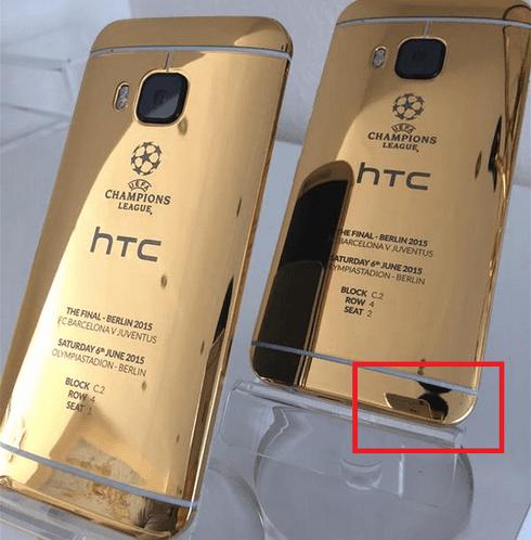HTC usa un iPhone per la foto social sul nuovo One M9