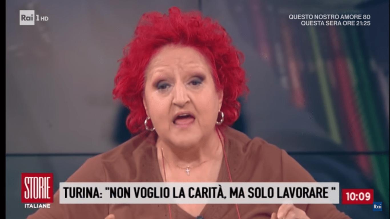 Luciana Turina vip in difficoltà economiche