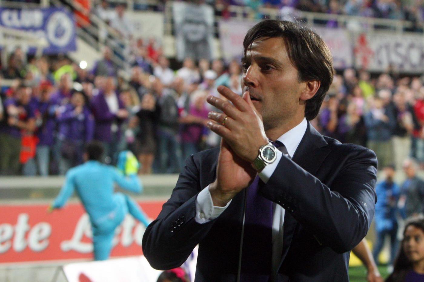 Fiorentina esonera Montella