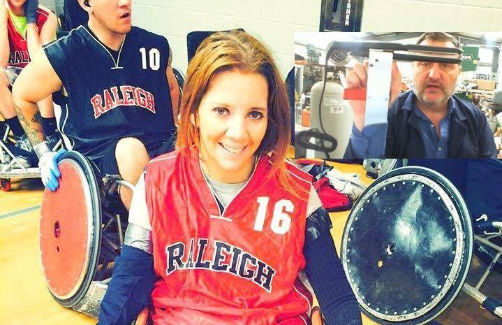 Rachelle è paralizzata, uno sconosciuto realizza per lei un lisciacapelli modificato