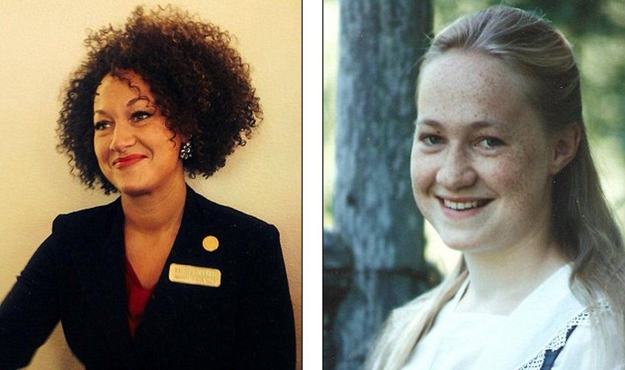 Usa: l'esponente per i diritti degli afro-americani Rachel Dolezal si finge di colore, ma in realtà è bianca