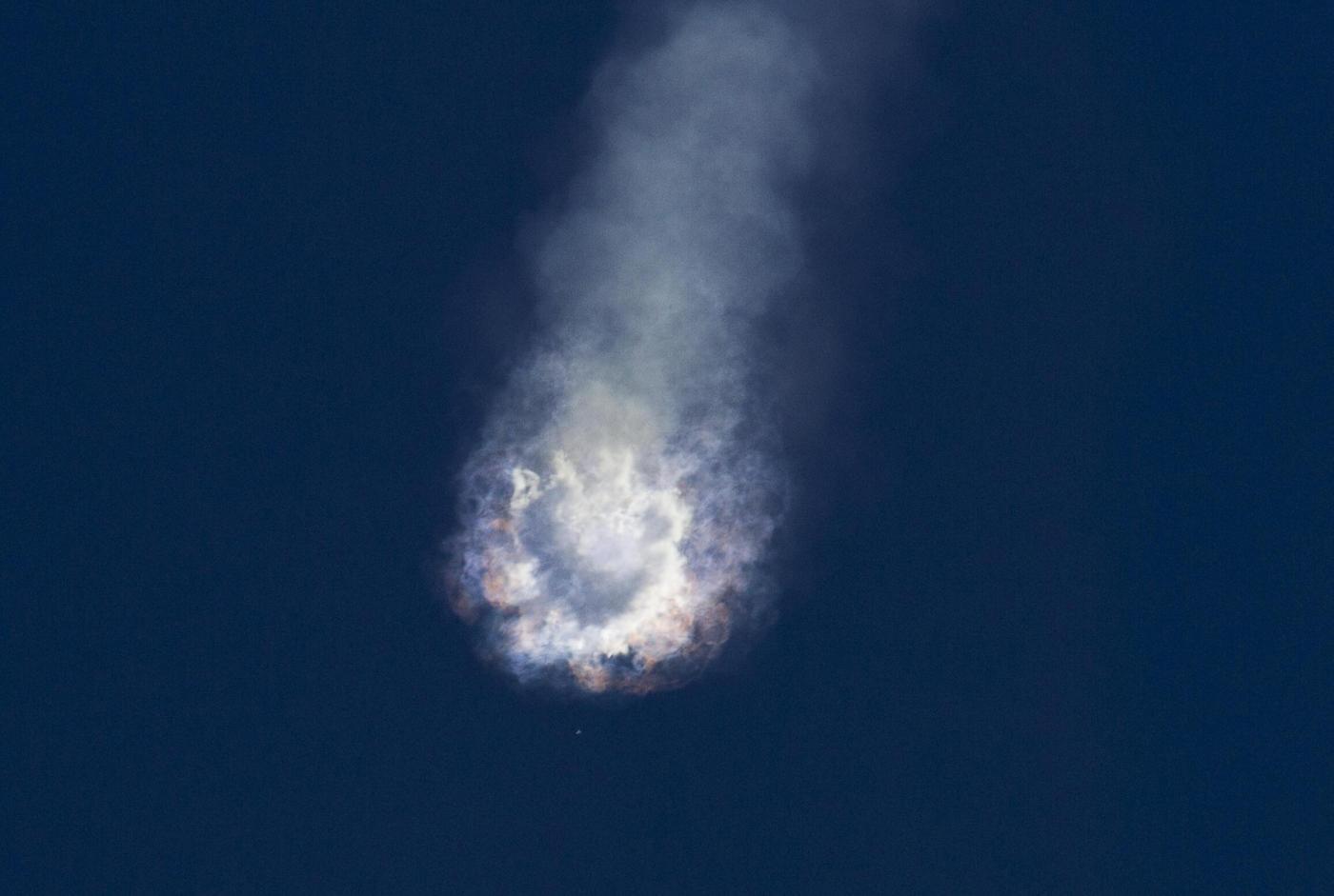 SpaceX esplosione