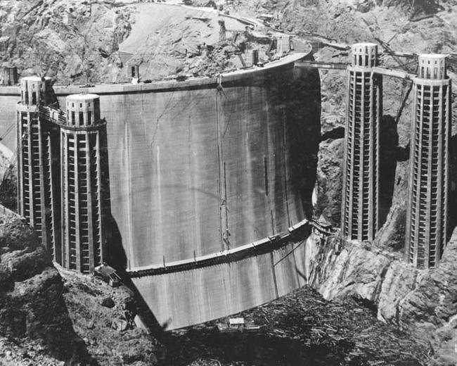 The Hoover Dam diga