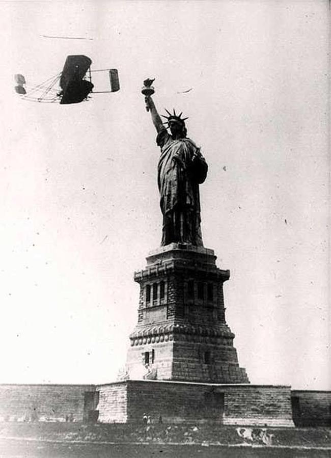 Wilbur Wright in volo
