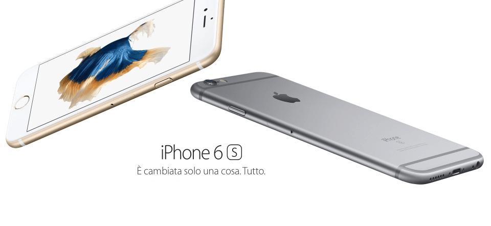 iPhone 6s oro e grigio