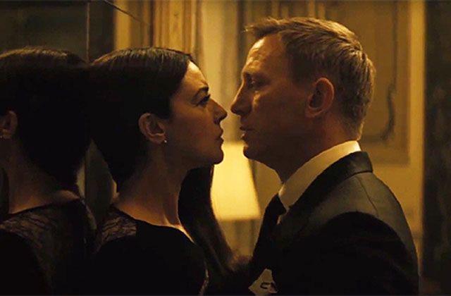 Monica Bellucci in Spectre con Daniel Craig: prime immagini dell'attrice nel nuovo film di 007
