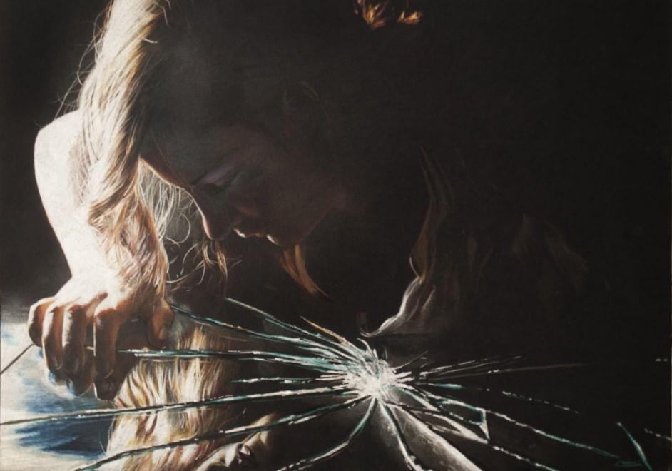 Danilo Pistone è Neve, lo street artist che si ispira a Caravaggio