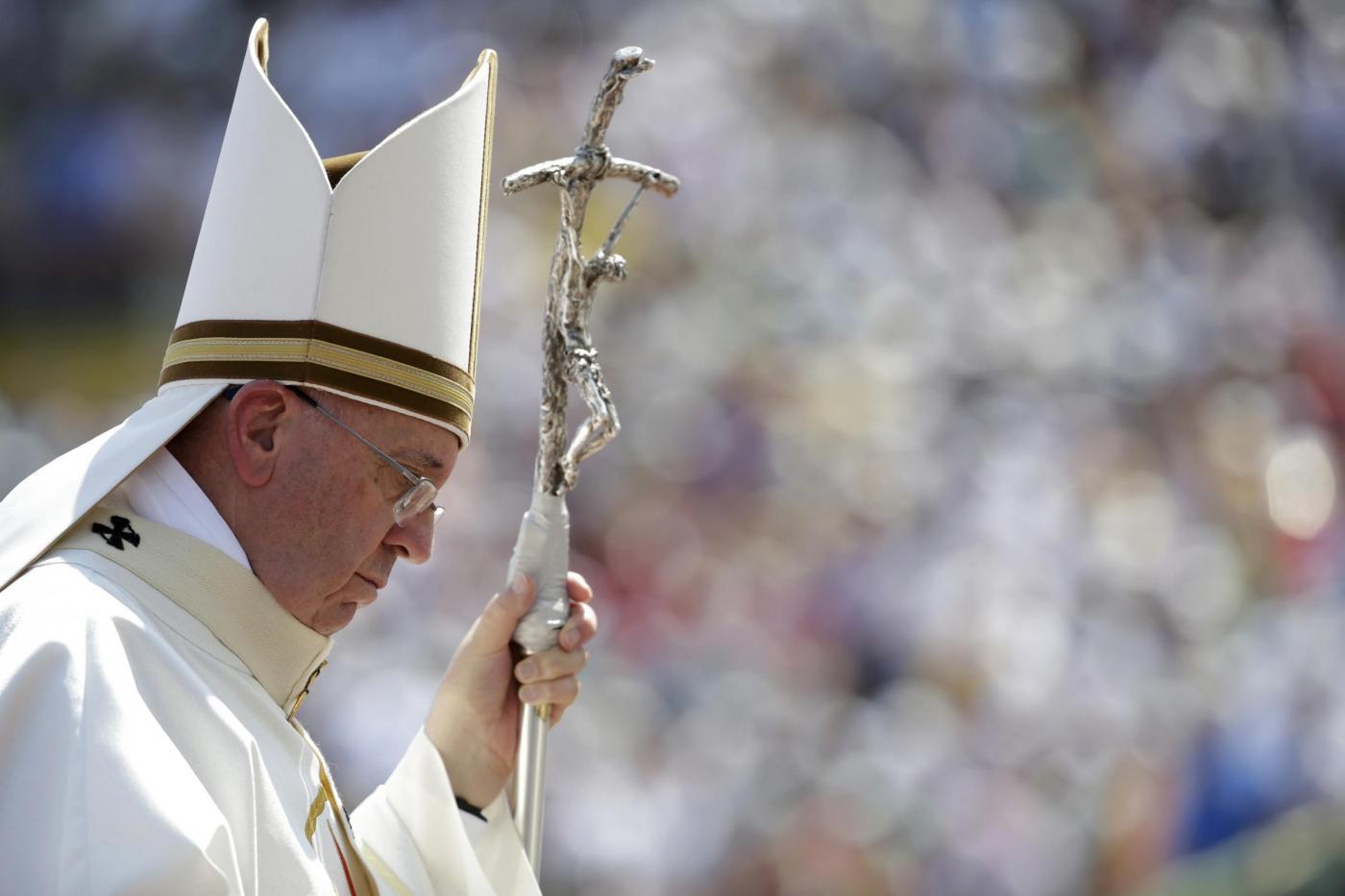 Bergoglio e il dormitorio per clochard in Vaticano
