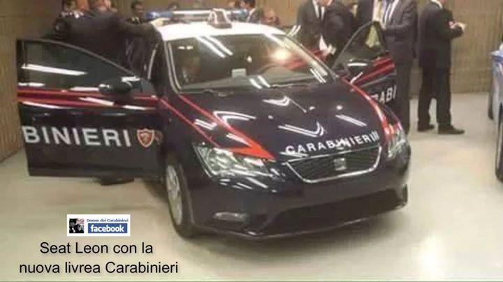 La Seat Leon è la nuova auto dei Carabinieri