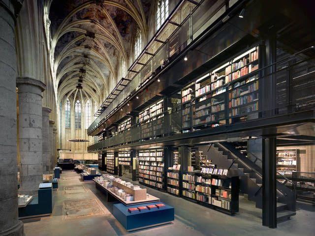 selexyz dominicanen bookstore maastricht olanda