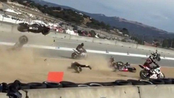 Laguna Seca: Bernat Martinez e Daniel Rivas muoiono in un terribile incidente