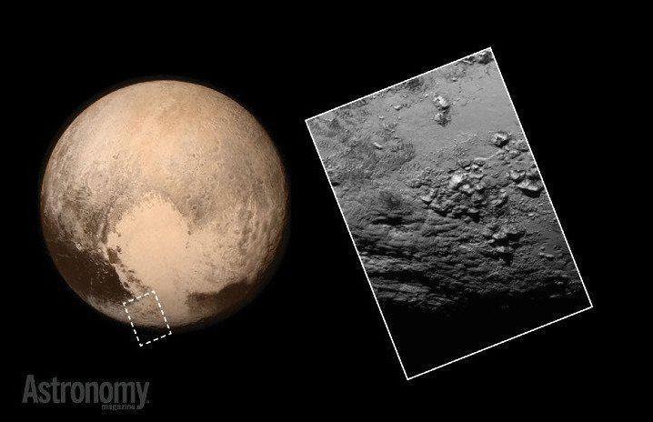Plutone: le foto ad alta risoluzione e l'omaggio del web