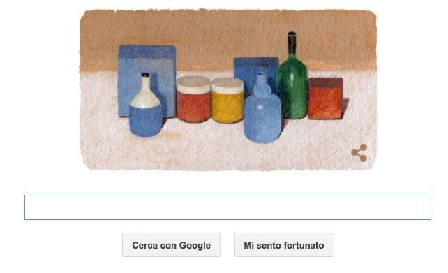 Giorgio Morandi protagonista del Google Doodle del 20 luglio
