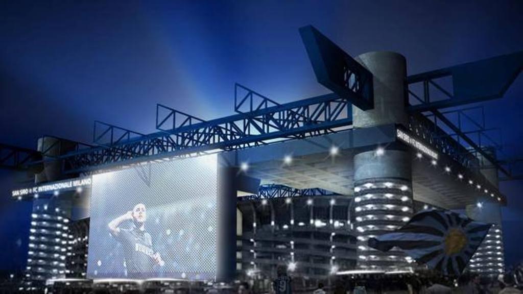 Inter, presentato al comune il progetto per il nuovo stadio Meazza