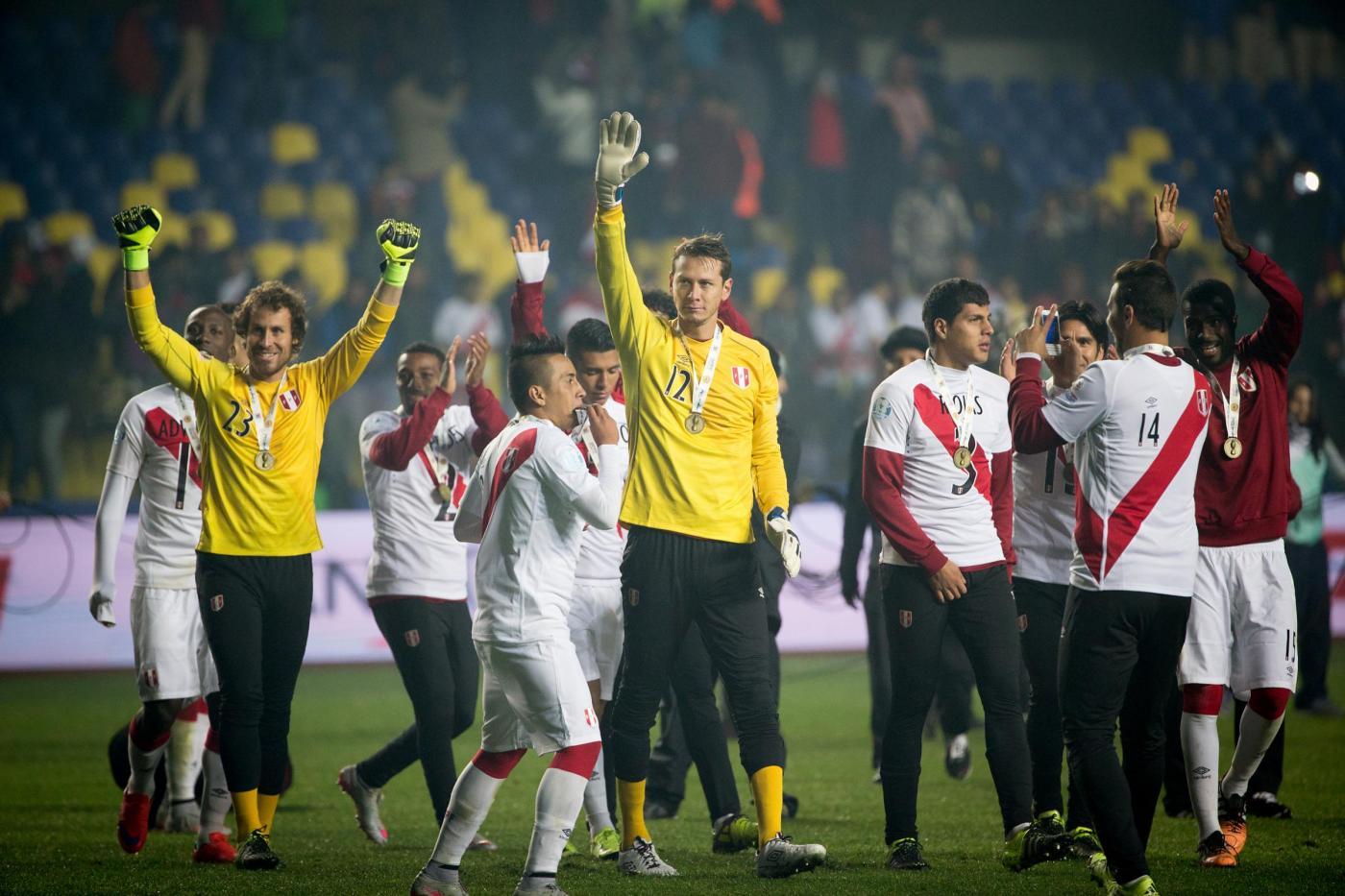 Peru terzo posto